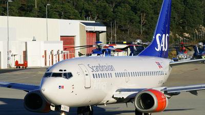 LN-BRV - Boeing 737-505 - Scandinavian Airlines (SAS)