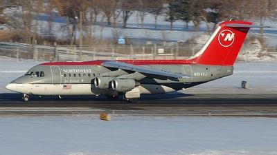 N514XJ - British Aerospace Avro RJ85 - Northwest Airlink (Mesaba Airlines)