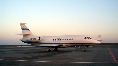 HB-IVN - Dassault Falcon 2000EX - Private