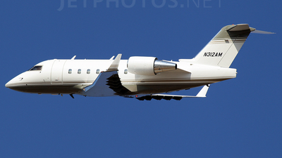 N312AM - Bombardier CL-600-2B16 Challenger 604 - Private