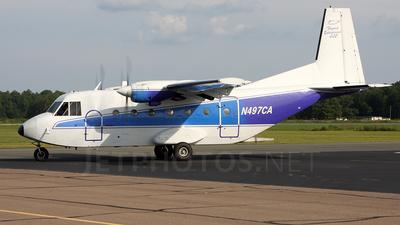 N497CA - CASA C-212-200 Aviocar - Private