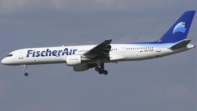 SP-FVP - Boeing 757-2Q8 - Fischer Air Polska