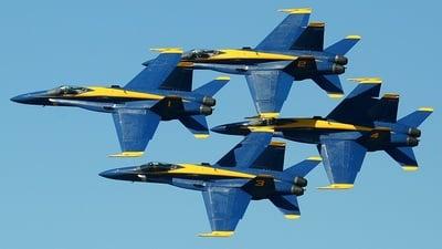 - McDonnell Douglas F-18 Hornet - United States - US Navy (USN)