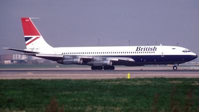 G-AXGW - Boeing 707-336C - British Airways