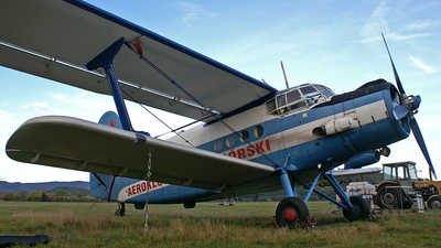 SP-AOF - Antonov An-2 - Aero Club - Jelenia Gora