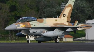 876 - Lockheed Martin F-16I Sufa - Israel - Air Force