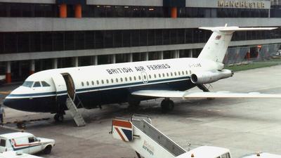 G-SURE - British Aircraft Corporation BAC 1-11 Series 416EK - British Air Ferries (BAF)