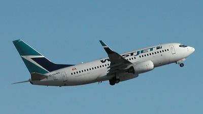 C-GUWS - Boeing 737-76N - WestJet Airlines
