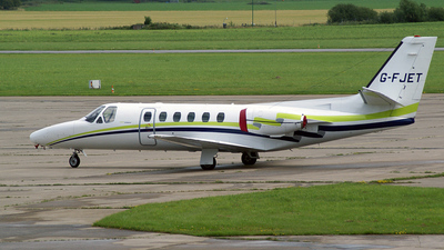 G-FJET - Cessna 550 Citation II - London Executive Aviation