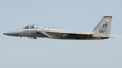 83-0017 - McDonnell Douglas F-15C Eagle - United States - US Air Force (USAF)