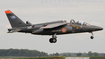E51 - Dassault-Breguet-Dornier Alpha Jet E - France - Air Force
