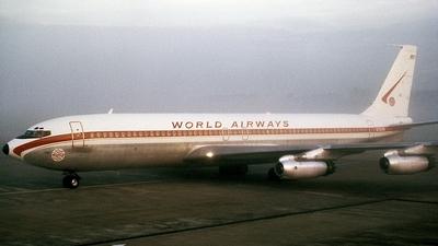 N702PA - Boeing 707-331 - World Airways