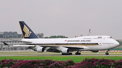 9V-SMK - Boeing 747-412 - Singapore Airlines