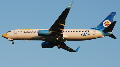 G-OXLC - Boeing 737-8BK - Nok Air (XL Airways)
