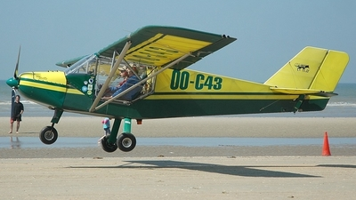 OO-C43 - Rans S-6 Coyote II - Private