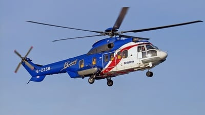 G-ZZSB - Eurocopter EC 225LP Super Puma II+ - Bristow Helicopters