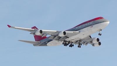 N661US - Boeing 747-451 - Northwest Airlines
