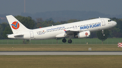 D-ARFC - Airbus A320-232 - Aero Flight