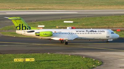 D-AGPM - Fokker 100 - dba