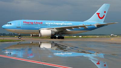 D-AHLX - Airbus A310-204 - Hapag-Lloyd