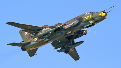 7411 - Sukhoi Su-22M4 Fitter K - Poland - Air Force