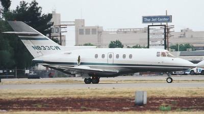 N833CW - British Aerospace BAe 125-800A - Flight Options