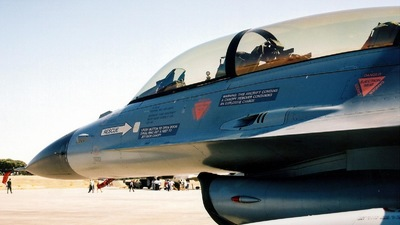 - General Dynamics F-16BM Fighting Falcon - Belgium - Air Force