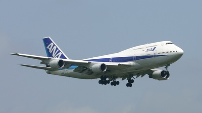 JA402A - Boeing 747-481D - All Nippon Airways (ANA)