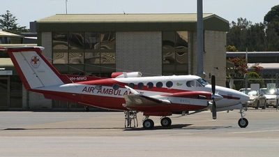 VH-MWQ - Beechcraft B200 Super King Air - Air Ambulance Victoria (RFDS)