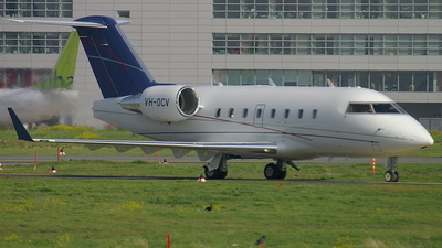 VH-OCV - Bombardier CL-600-2B16 Challenger 604 - ExecuJet Aviation