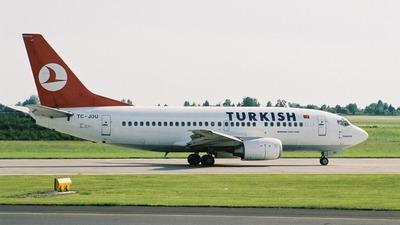 TC-JDU - Boeing 737-5Y0 - Turkish Airlines