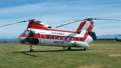 N6675D - Boeing Vertol BV-107 ll - Columbia Helicopters