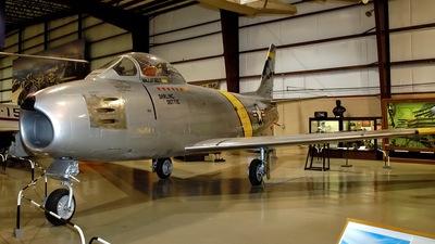 52-5143 - North American F-86F Sabre - United States - US Air Force (USAF)