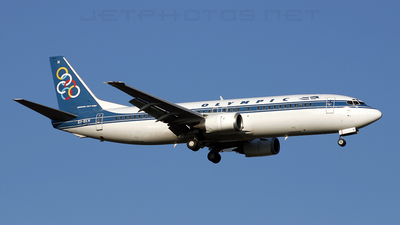 SX-BKN - Boeing 737-4Q8 - Olympic Airlines