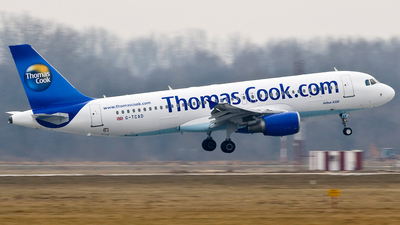 G-TCAD - Airbus A320-214 - Thomas Cook Airlines