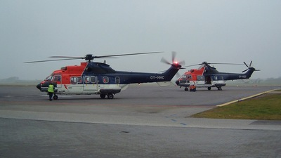 OY-HHC - Aérospatiale AS 332L1 Super Puma - CHC Helicopters