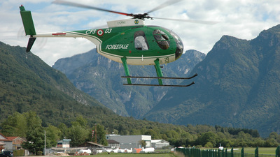 I-CFSC - Hughes 369HS - Italy - Forestale