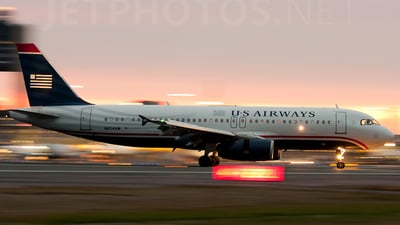 N654AW - Airbus A320-232 - US Airways
