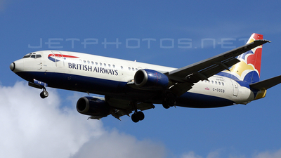 G-DOCB - Boeing 737-436 - British Airways