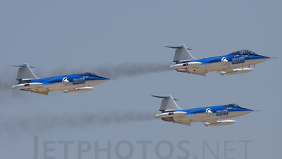 N104RD - Canadair CF-104G Starfighter - Starfighters Demonstration Team
