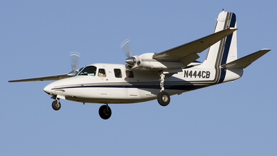 A picture of N444CB - Aero Commander 500B - Central Airlines - © Jeremy D. Dando