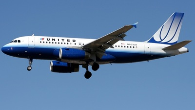 N803UA - Airbus A319-131 - United Airlines