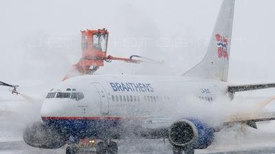 LN-BUD - Boeing 737-505 - Braathens