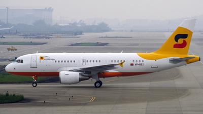 VP-BEX - Airbus A319-115X(CJ) - Sonair