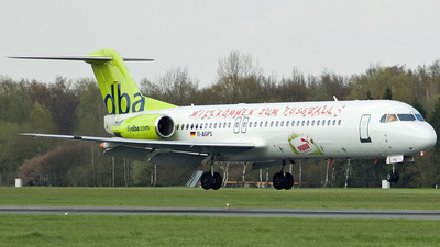 D-AGPS - Fokker 100 - dba (Germania)