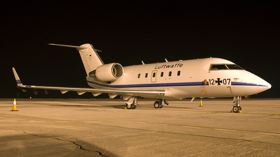 12-07 - Canadair CL-600-2A12 Challenger 601 - Germany - Air Force
