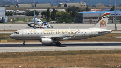 A6-EIG - Airbus A320-232 - Etihad Airways
