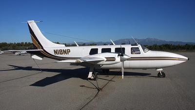 A picture of N18NP - Piper PA60 Aerostar - [61P0237036] - © Paul Chandler