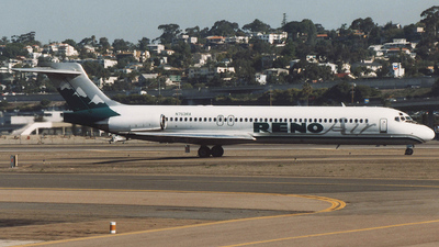 N753RA - McDonnell Douglas MD-87 - Reno Air