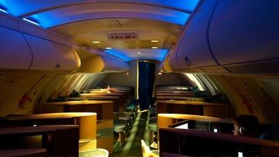 B-HUI - Boeing 747-467 - Cathay Pacific Airways